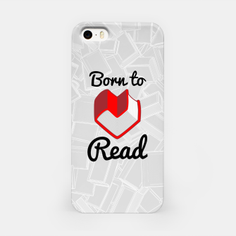 Thumbnail image of Born to Read II iPhone Case, Live Heroes