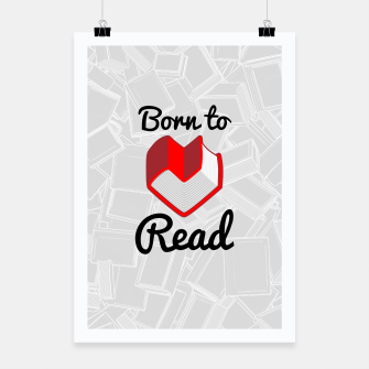 Thumbnail image of Born to Read II Poster, Live Heroes
