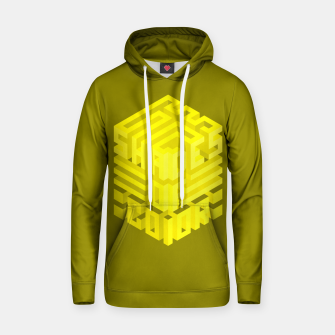 Thumbnail image of Shades ISO Yellow Cotton hoodie, Live Heroes