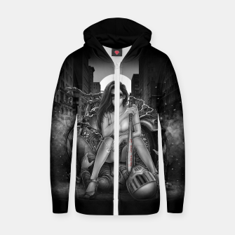 Miniature de image de Winya No. 139 Cotton zip up hoodie, Live Heroes