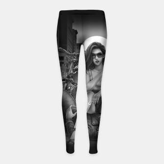 Thumbnail image of Winya No. 139 Girl's leggings, Live Heroes