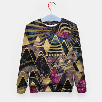 Miniaturka Golden Peaks Kid's sweater, Live Heroes