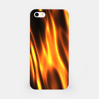Hot Fire Flames iPhone Case Bild der Miniatur