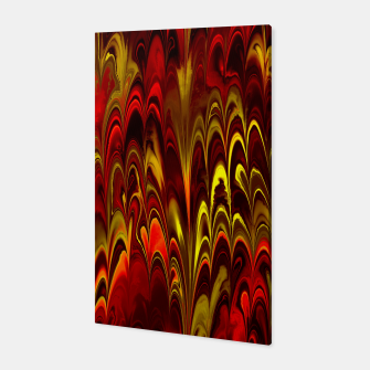 Thumbnail image of Marbled Red Fountain Canvas, Live Heroes