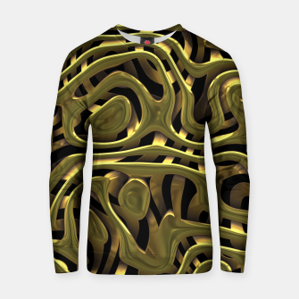 Thumbnail image of Golden Liquid Metal Cotton sweater, Live Heroes