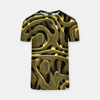 Thumbnail image of Golden Liquid Metal T-shirt, Live Heroes