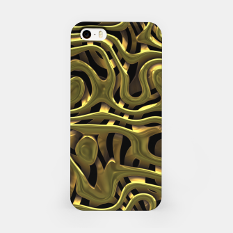Thumbnail image of Golden Liquid Metal iPhone Case, Live Heroes