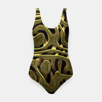 Thumbnail image of Golden Liquid Metal Swimsuit, Live Heroes