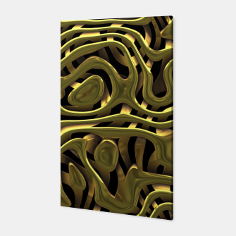 Thumbnail image of Golden Liquid Metal Canvas, Live Heroes