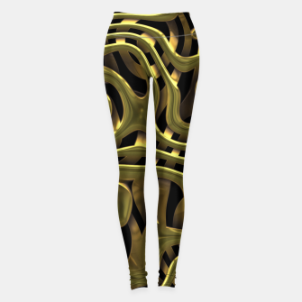 Thumbnail image of Golden Liquid Metal Leggings, Live Heroes