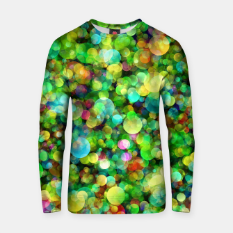 Thumbnail image of Spring Colorful Bokeh Circle blur Cotton sweater, Live Heroes