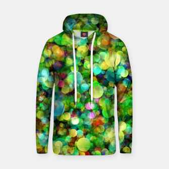 Thumbnail image of Spring Colorful Bokeh Circle blur Cotton hoodie, Live Heroes