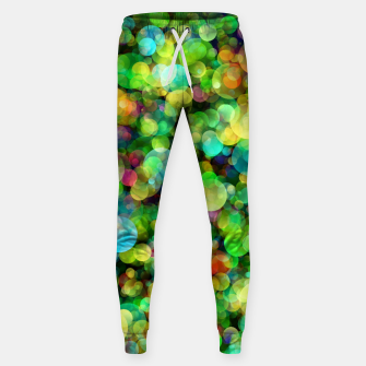 Thumbnail image of Spring Colorful Bokeh Circle blur Cotton sweatpants, Live Heroes