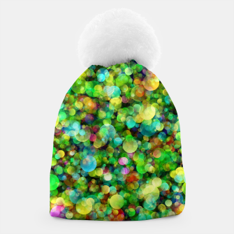 Thumbnail image of Spring Colorful Bokeh Circle blur Beanie, Live Heroes