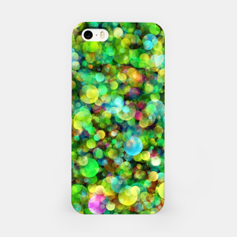 Thumbnail image of Spring Colorful Bokeh Circle blur iPhone Case, Live Heroes