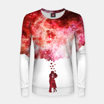 Miniatur Love is in the...space Woman cotton sweater, Live Heroes