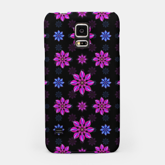 Thumbnail image of Stylized Dark Floral Pattern Samsung Case, Live Heroes