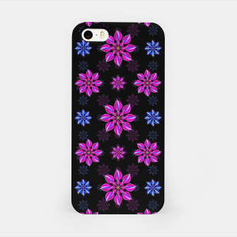 Thumbnail image of Stylized Dark Floral Pattern iPhone Case, Live Heroes
