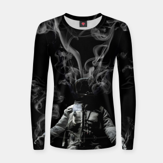 Imagen en miniatura de Broken heart Woman cotton sweater, Live Heroes