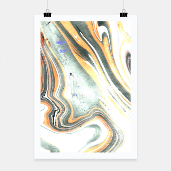 Miniaturka Abstract Marble Poster, Live Heroes