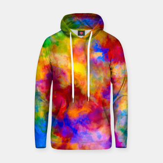 Color Freak Holi Clouds Cotton hoodie thumbnail image
