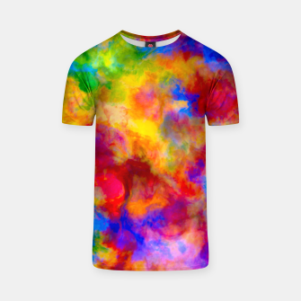 Thumbnail image of Color Freak Holi Clouds T-shirt, Live Heroes