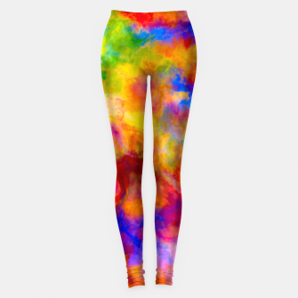 Color Freak Holi Clouds Leggings thumbnail image