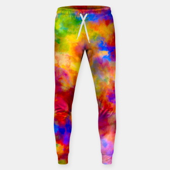 Color Freak Holi Clouds Cotton sweatpants thumbnail image
