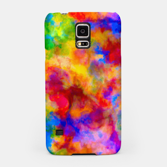 Color Freak Holi Clouds Samsung Case thumbnail image