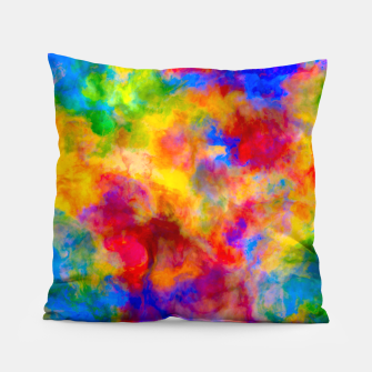 Color Freak Holi Clouds Pillow thumbnail image