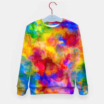 Color Freak Holi Clouds Kid's sweater thumbnail image