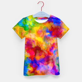 Color Freak Holi Clouds Kid's t-shirt thumbnail image
