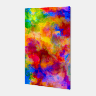 Color Freak Holi Clouds Canvas thumbnail image