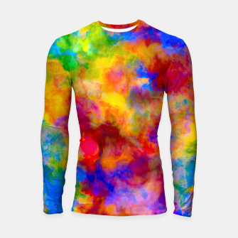 Color Freak Holi Clouds Longsleeve rashguard  thumbnail image
