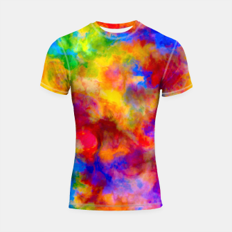 Color Freak Holi Clouds Shortsleeve rashguard thumbnail image