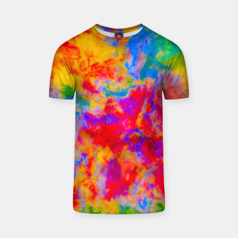 Thumbnail image of Color Freak Holi Clouds Phase Two T-shirt, Live Heroes