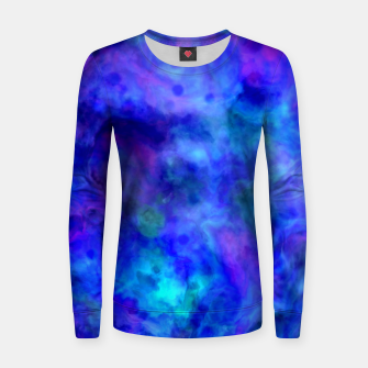 Thumbnail image of Color Freak Holi Clouds Heavens Above Woman cotton sweater, Live Heroes