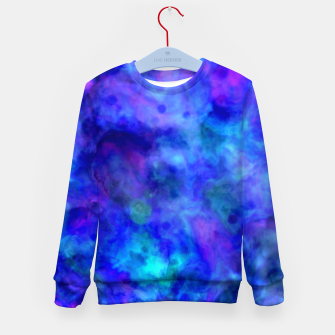 Thumbnail image of Color Freak Holi Clouds Heavens Above Kid's sweater, Live Heroes