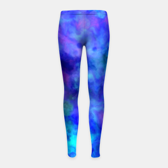 Thumbnail image of Color Freak Holi Clouds Heavens Above Girl's leggings, Live Heroes