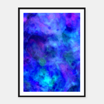 Thumbnail image of Color Freak Holi Clouds Heavens Above Framed poster, Live Heroes