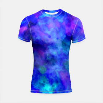 Thumbnail image of Color Freak Holi Clouds Heavens Above Shortsleeve rashguard, Live Heroes