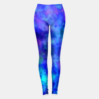 Thumbnail image of Color Freak Holi Clouds Heavens Above Leggings, Live Heroes