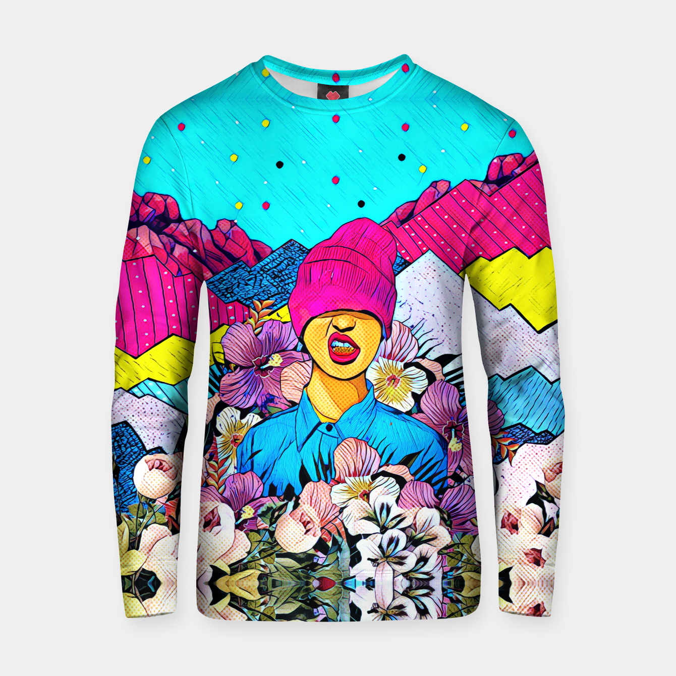 Image of Colors Cotton sweater - Live Heroes