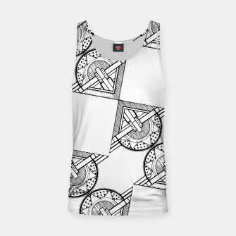 Thumbnail image of Art Deco Architecture Tank Top, Live Heroes