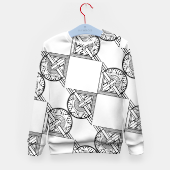 Thumbnail image of Art Deco Architecture Kid's sweater, Live Heroes