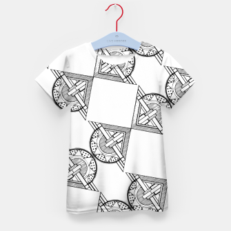 Thumbnail image of Art Deco Architecture Kid's t-shirt, Live Heroes