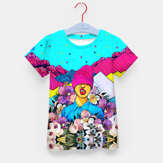 Thumbnail image of Colors Kid's t-shirt, Live Heroes