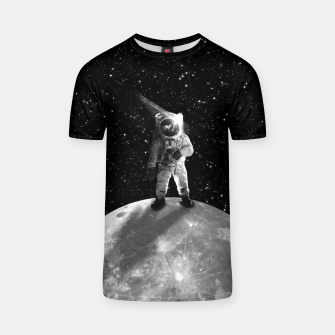 Thumbnail image of Bohemian Astronaut T-shirt, Live Heroes