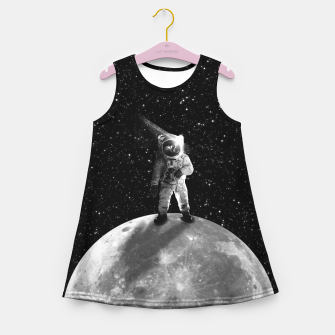 Bohemian Astronaut Girl's summer dress thumbnail image