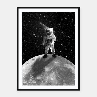 Thumbnail image of Bohemian Astronaut Framed poster, Live Heroes